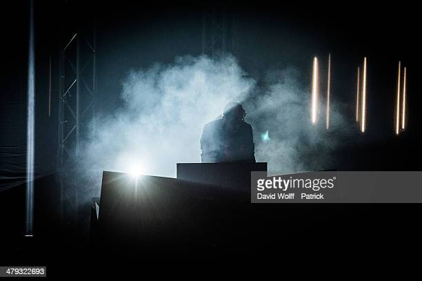 Kavinsky performs at L'Olympia on March 17 2014 in Paris France