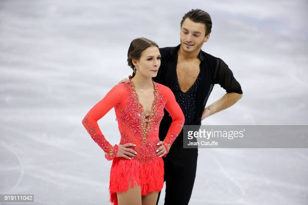 Kavita Lorenz and Joti Polizoakis of Germany compete in the Figure Skating Team Event Ice Dance Short Dance on day two of the PyeongChang 2018 Winter...