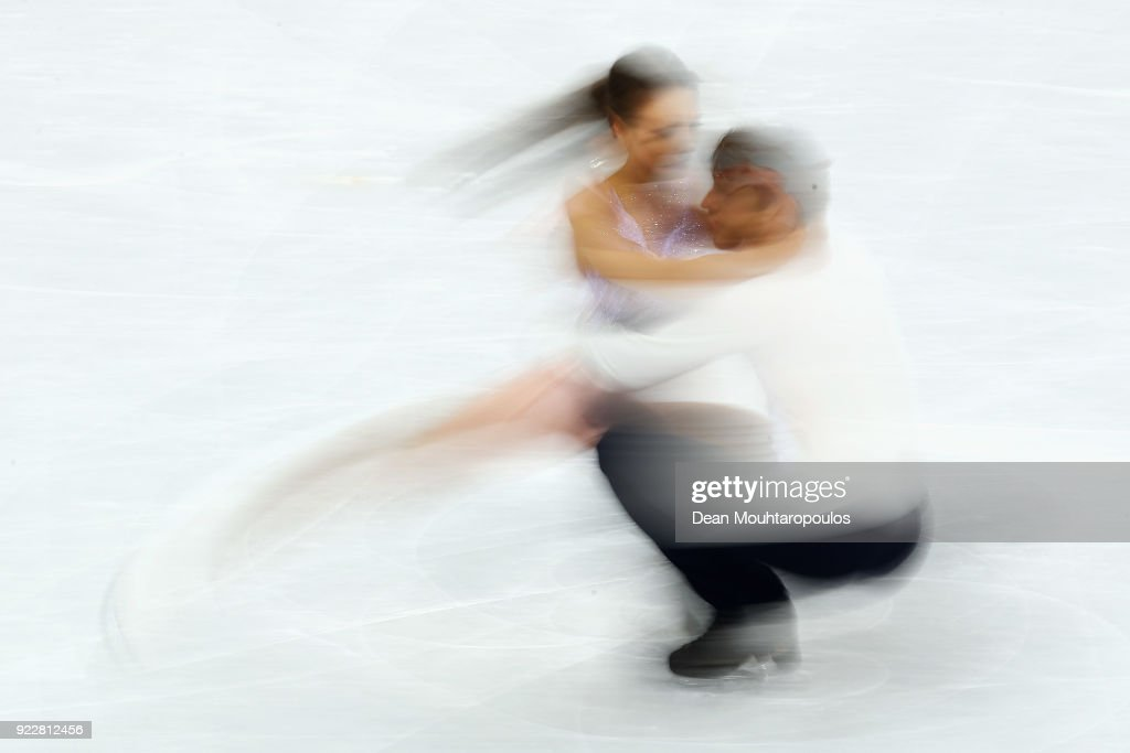 Kavita Lorenz and Joti Polizoakis of Germany compete in the Figure Skating Ice Dance Free Dance on day eleven of the PyeongChang 2018 Winter Olympic Games at Gangneung Ice Arena on February 20, 2018 in Gangneung, South Korea.