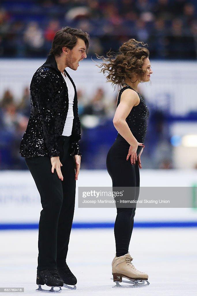 European Figure Skating Championships - Ostrava Day 2