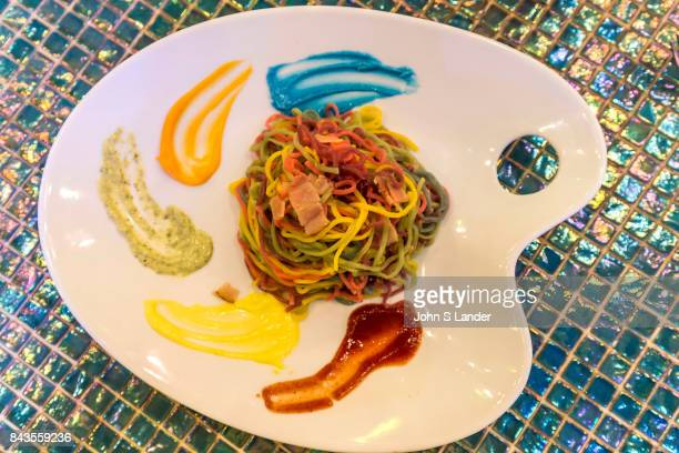 Kawai Monster Cafe Multicolored Pasta Steven King says that monsters are real and live inside us The Kawai Monster Cafe is a perfect place to test...