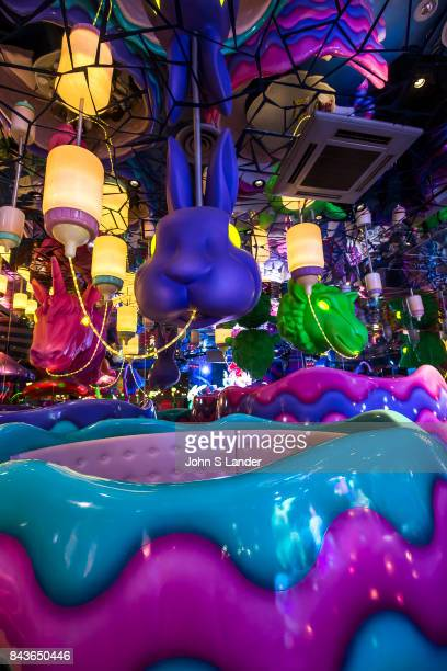 Kawai Monster Cafe Mushroom Disco Steven King says that monsters are real and live inside us The Kawai Monster Cafe is a perfect place to test this...