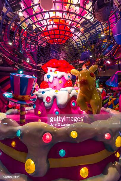 Kawai Monster Cafe SweetsgoRound Steven King says that monsters are real and live inside us The Kawai Monster Cafe is a perfect place to test this...