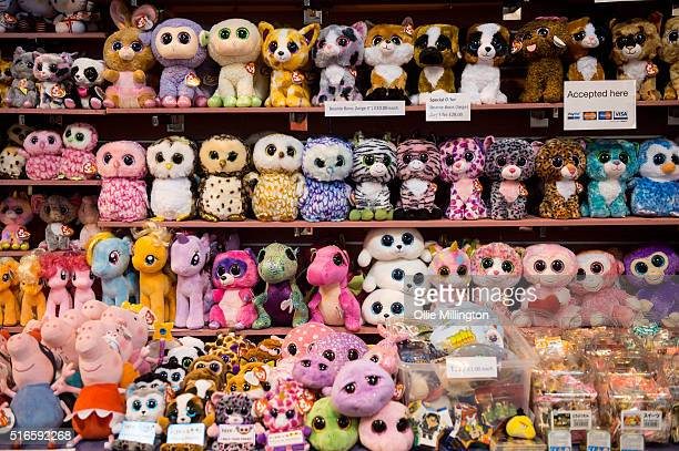 kawaii Merchandise for sale during Comic Con 2016 on March 19 2016 in Birmingham United Kingdom