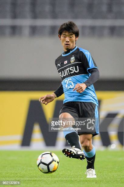 Kawasaki Midfielder Kano Kenta in action during the AFC Champions League 2018 Group Stage F Match Day 5 between Shanghai SIPG and Kawasaki Frontale...