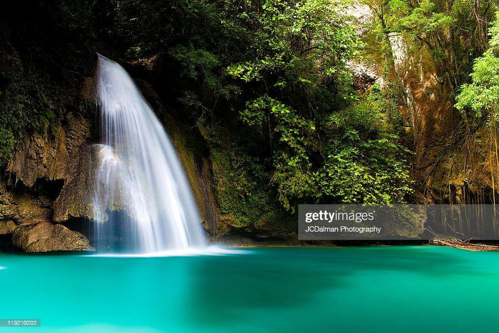 Kawasan Falls : Stock Photo