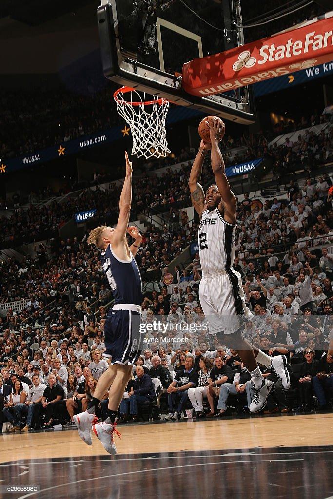 Oklahoma City Thunder v San Antonio Spurs - Game One