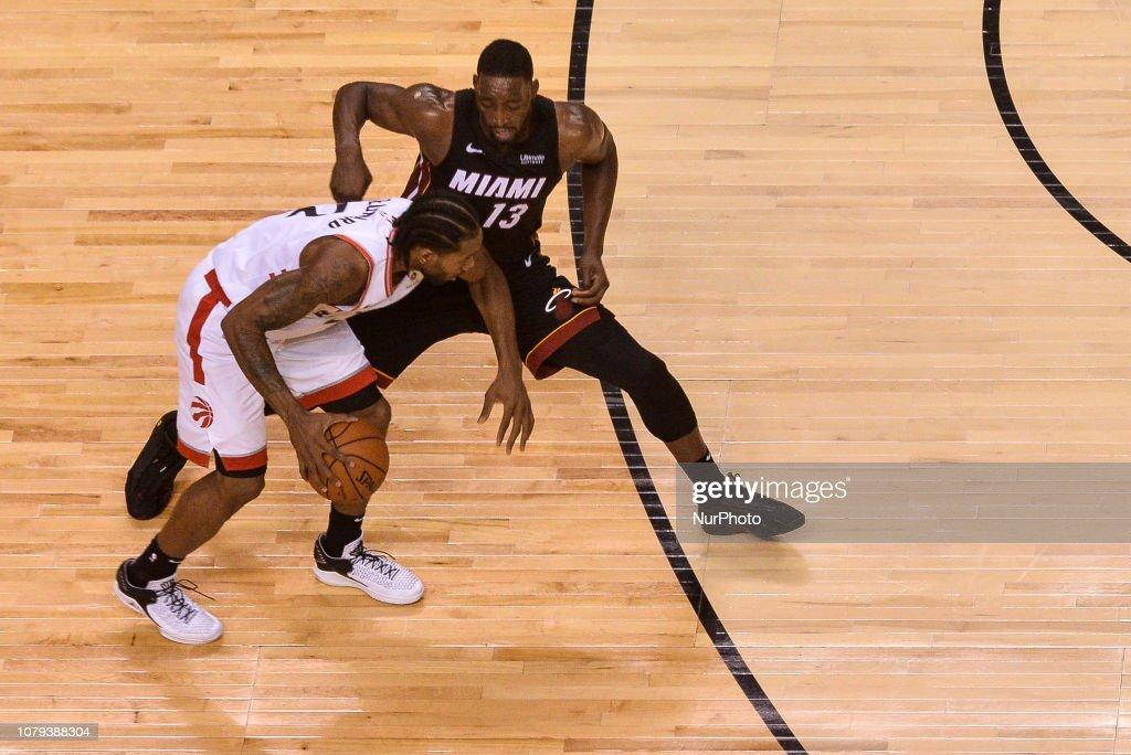 Toronto Raptors v Miami Heat NBA Game : News Photo