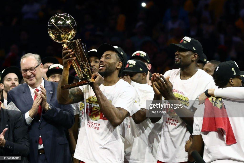 2019 NBA Finals - Game Six : News Photo