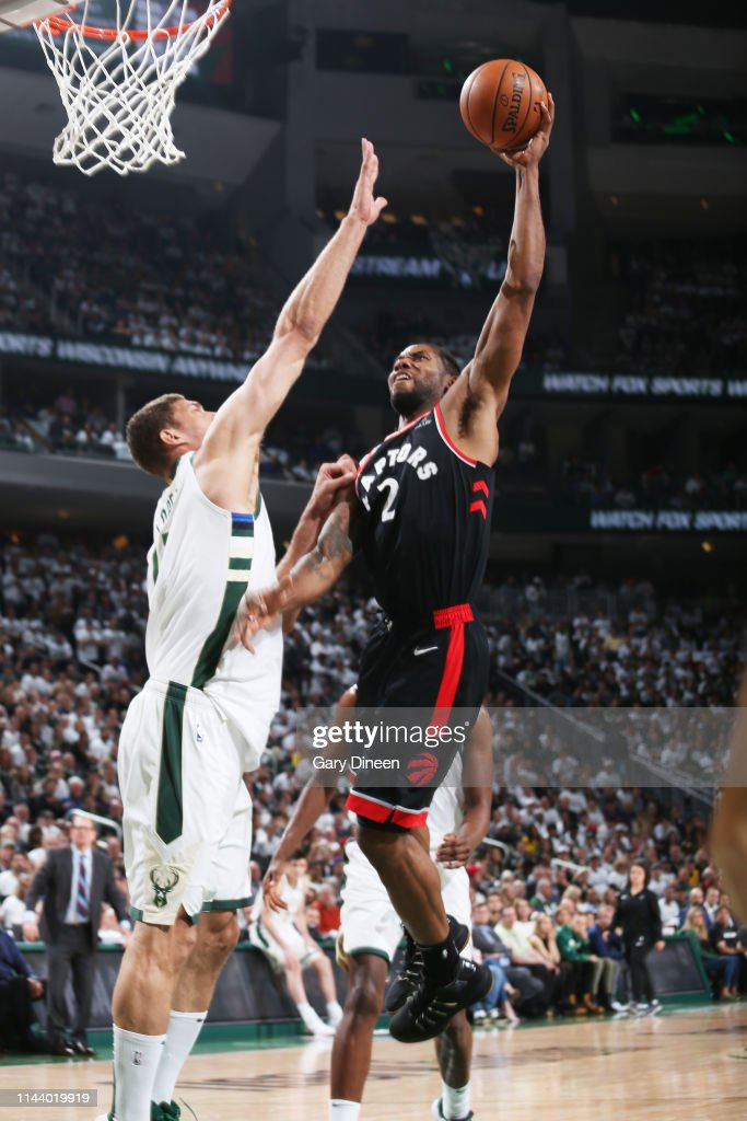 Image result for kawhi leonard raptors bucks dunk