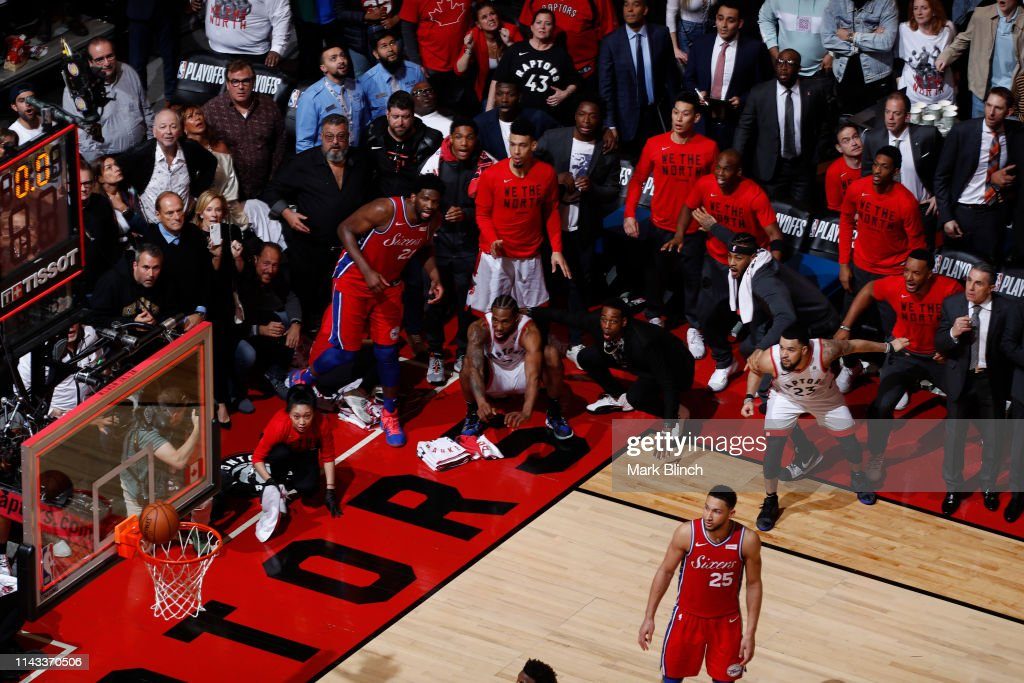 Eastern Conference Semifinals - Philadelphia 76ers v Toronto Raptors : News Photo