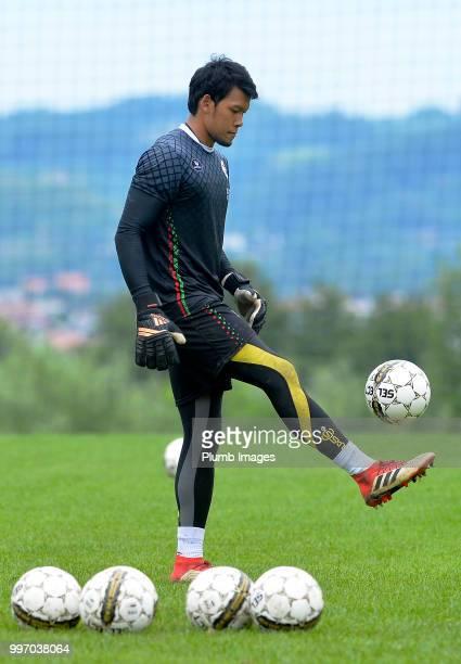 Kawin Thamsatchanan during the OH Leuven PreSeason Training Camp on July 12 2018 in Maribor Slovenia