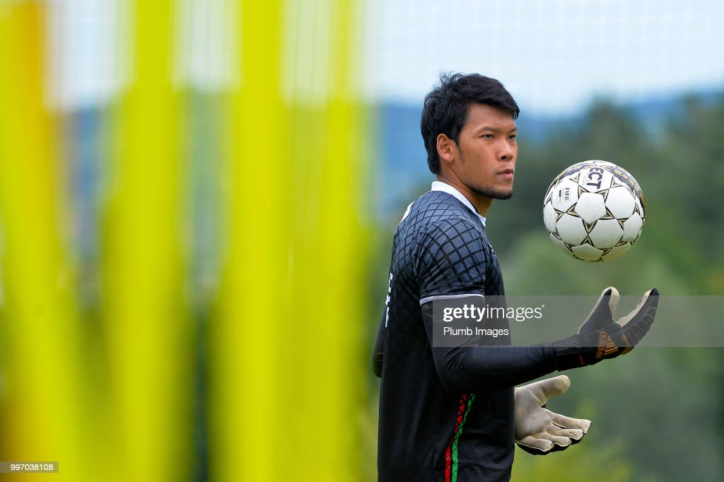 Kawin Thamsatchanan during the OH Leuven Pre-Season Training Camp on July 12, 2018 in Maribor, Slovenia.