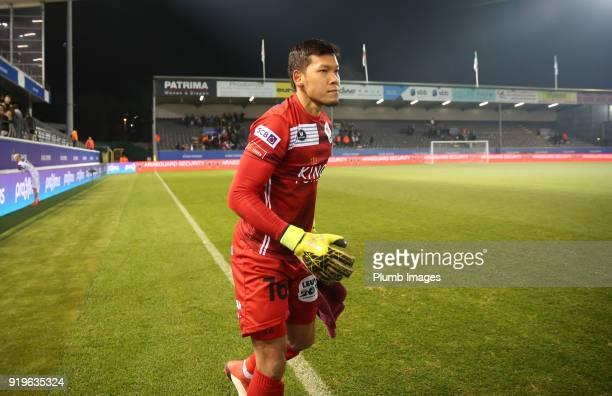 Kawin Thamsatchanan of OudHeverlee Leuven after the Proximus League match between OudHeverlee Leuven and BeerschotWilrijk at Stadium Den Dreef on...