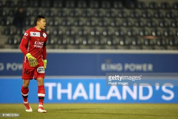 Kawin Thamsatchanan of OudHeverlee Leuven during the Proximus League match between OudHeverlee Leuven and BeerschotWilrijk at Stadium Den Dreef on...
