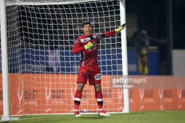 Kawin Thamsatchanan of OudHeverlee Leuven in action during the Proximus League match between OudHeverlee Leuven and BeerschotWilrijk at Stadium Den...