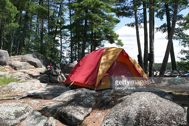 Kawnipi Lake Campsite
