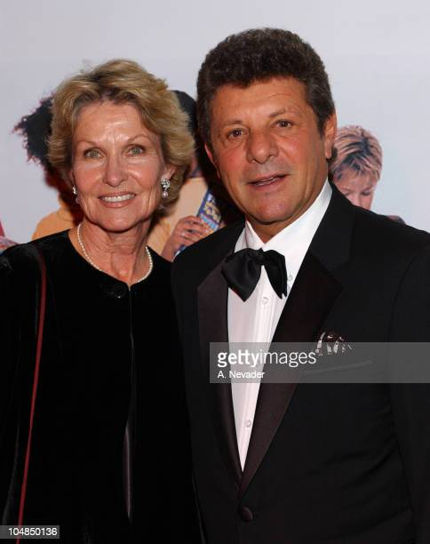 Kay Avalon and Frankie Avalon during 1st Annual Golden Youth Awards Gala at The Friars Club in Beverly Hills California United States