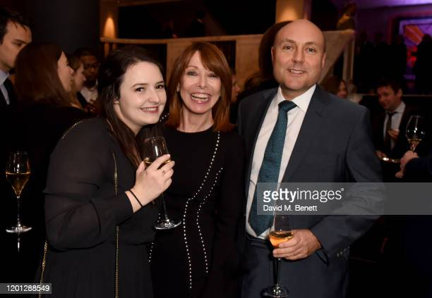 Kay Burley and Andrew Griffith MP attend The Spectator Parliamentarian Of The Year Awards at Rosewood London on January 22 2020 in London England