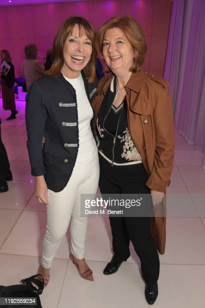 Kay Burley and guest attend the press night preshow drinks reception for the English National Ballet's Le Corsaire at St Martins Lane on January 8...