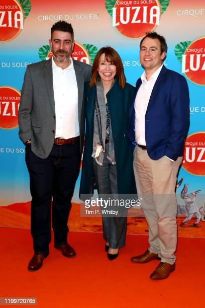 Kay Burley and guests attend Cirque du Soleil's LUZIA at Royal Albert Hall on January 15 2020 in London England