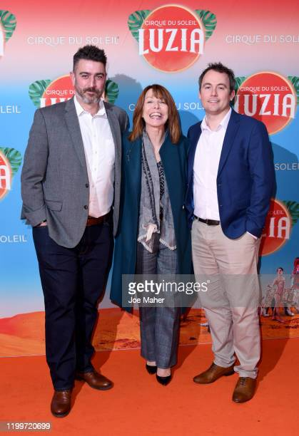 Kay Burley and guests attend Cirque du Soleil's LUZIA at The Royal Albert Hall on January 15 2020 in London England