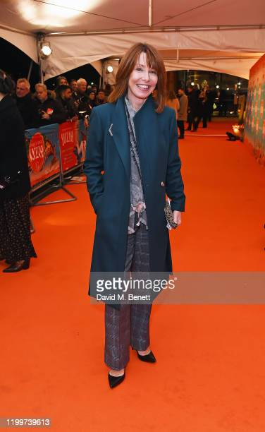 Kay Burley arrives at the gala performance of Cirque De Soleil's LUIZA at The Royal Albert Hall on January 15 2020 in London England
