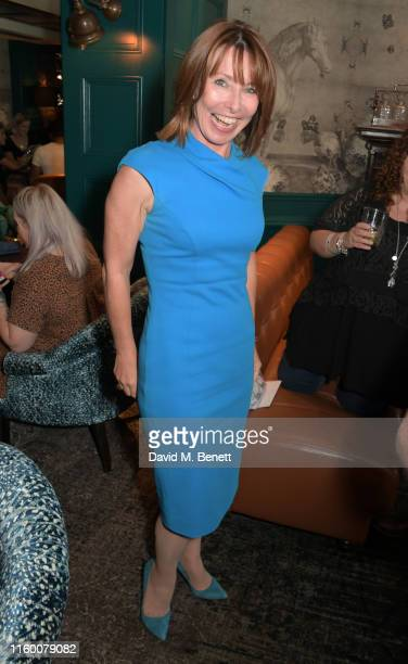 Kay Burley attends a VIP performance of Magic Mike Live London at the Hippodrome Casino on August 6 2019 in London England
