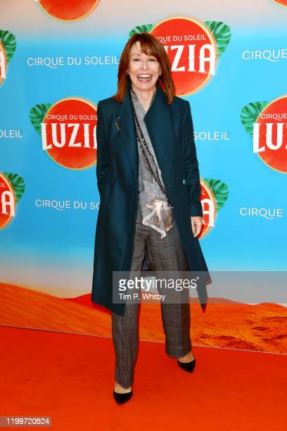 Kay Burley attends Cirque du Soleil's LUZIA at Royal Albert Hall on January 15 2020 in London England