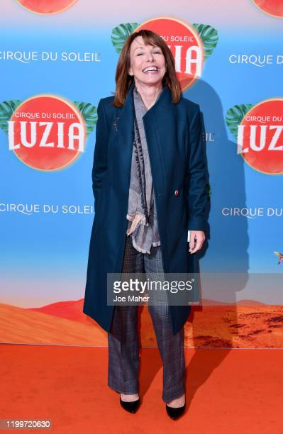 Kay Burley attends Cirque du Soleil's LUZIA at The Royal Albert Hall on January 15 2020 in London England