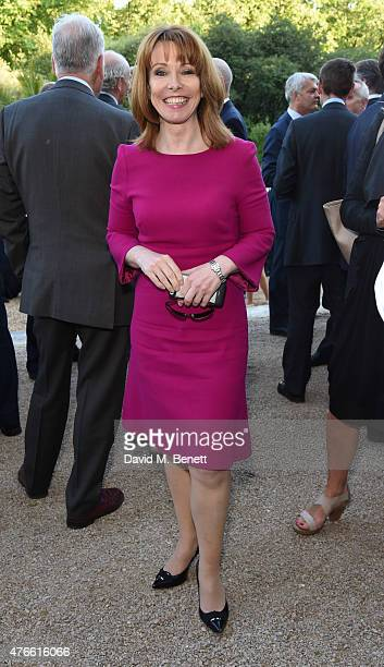 Kay Burley attends the Bell Pottinger Summer Party at Lancaster House on June 10 2015 in London England