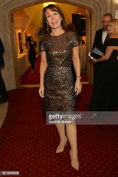 Kay Burley attends the British Heart Foundations Beating Hearts Ball at The Guildhall on February 20 2018 in London England