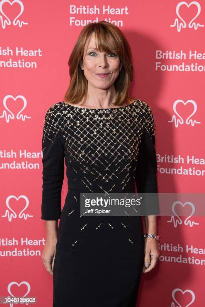 Kay Burley attends the British Heart Foundation's 'Heart Hero' awards at Underglobe on October 5 2018 in London England