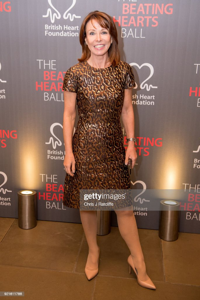 Kay Burley attends the British Heart Foundation's 'The Beating Hearts Ball' at The Guildhall on February 20, 2018 in London, England.