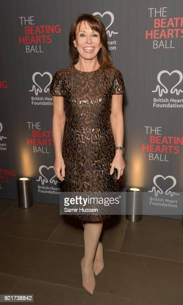 Kay Burley attends the British Heart Foundation's 'The Beating Hearts Ball' at The Guildhall on February 20 2018 in London England