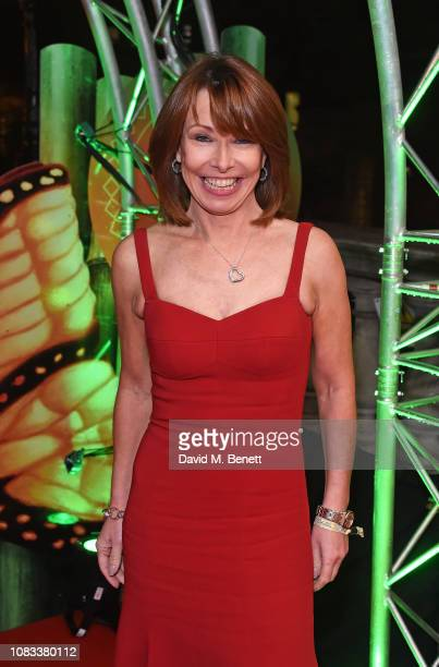 Kay Burley attends the Cirque du Soleil Premiere Of TOTEM at Royal Albert Hall on January 16 2019 in London England