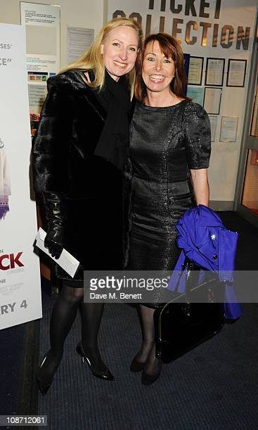 Kay Burley attends the European Film Premiere of 'Brighton Rock' at Odeon West End on February 1 2011 in London England