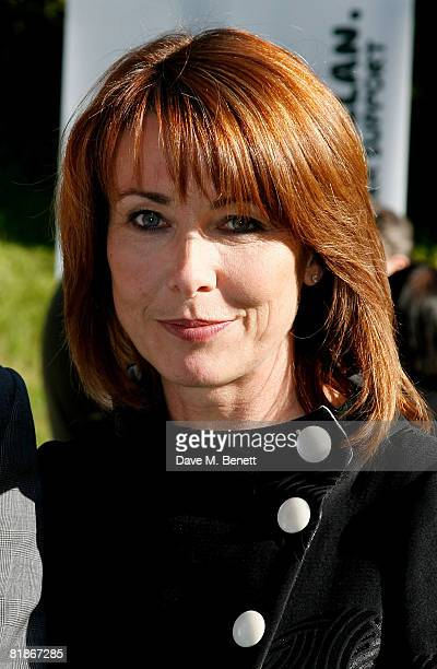 Kay Burley attends the Macmillan Dog Day at the Royal Hospital Chelsea on July 8 2008 in London England