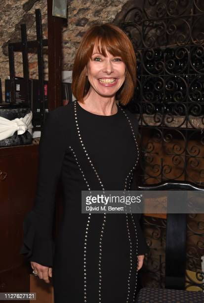 Kay Burley attends the National Youth Theatre's fundraising event at The Stafford Hotel on February 26 2019 in London England