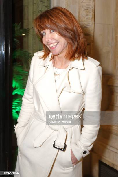 Kay Burley attends the Opening Night performance of 'Cirque Du Soleil OVO' at the Royal Albert Hall on January 10 2018 in London England