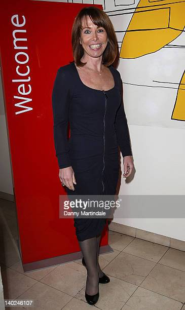 Kay Burley attends The Ultimate News Quiz in aid of Action for Children Restless Development and Rory Peck Trust at Quaglino's on March 1 2012 in...