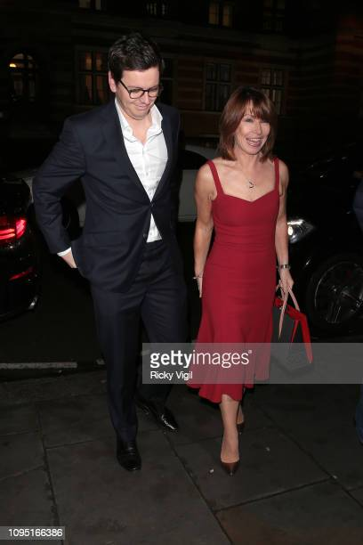 Kay Burley seen attending Cirque du Soleil press night for 'TOTEM' at Royal Albert Hall on January 16 2019 in London England