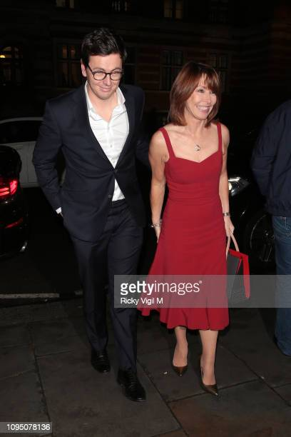 Kay Burley seen attending Cirque du Soleil press night Of 'TOTEM' at Royal Albert Hall on January 16 2019 in London England