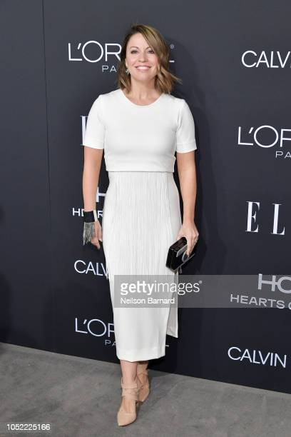 Kay Cannon attends ELLE's 25th Annual Women In Hollywood Celebration presented by L'Oreal Paris Hearts On Fire and CALVIN KLEIN at Four Seasons Hotel...