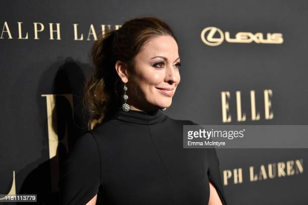 Kay Cannon attends ELLE's 26th Annual Women In Hollywood Celebration Presented By Ralph Lauren And Lexus at The Four Seasons Hotel Los Angeles on...