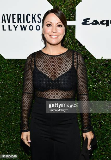 Kay Cannon attends Esquire's 'Mavericks of Hollywood' Celebration presented by Hugo Boss on February 20 2018 in Los Angeles California