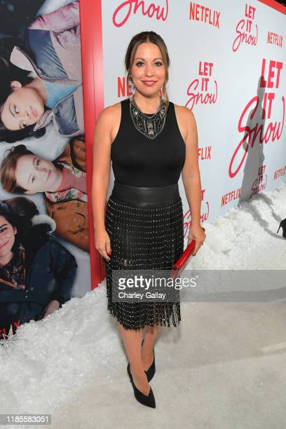 """Kay Cannon attends Netflix """"Let It Snow"""" Los Angeles premiere on November 04, 2019 in Los Angeles, California."""