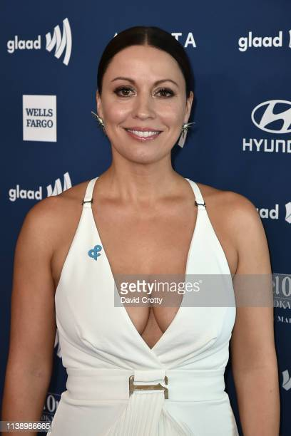 Kay Cannon attends the 30th Annual GLAAD Media Awards at Beverly Hills Hotel on March 28 2019 in Beverly Hills California