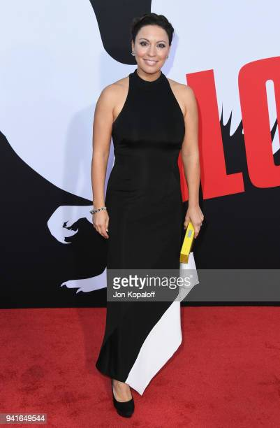 """Kay Cannon attends Universal Pictures' """"Blockers"""" Premiere at Regency Village Theatre on April 3, 2018 in Westwood, California."""