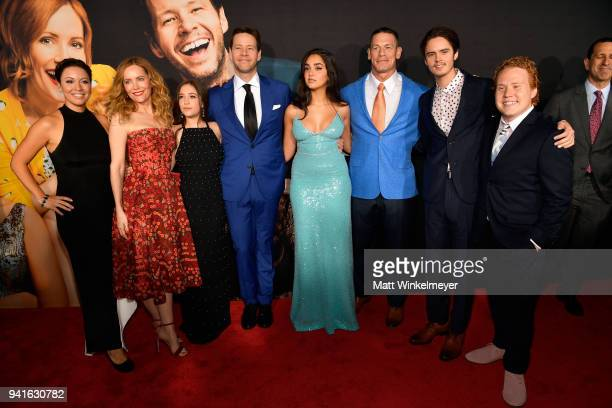 Kay Cannon Leslie Mann Gideon Adlon Ike Barinholtz Geraldine Viswanathan John Cena Miles Robbins and Jimmy Bellinger attend the premiere of Universal...